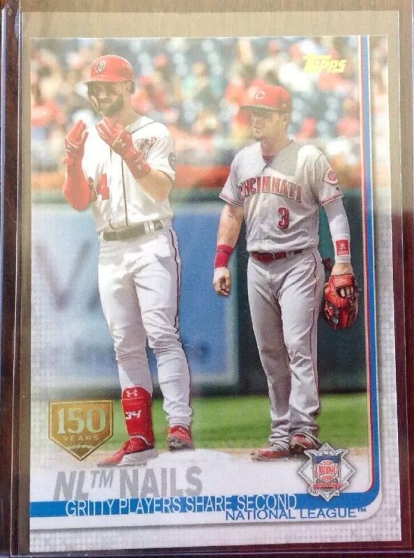 2019 Topps Series One 150th Anniversary Bryce Harper Checklist SP