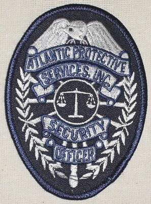 Atlantic Protective Services Inc Security Officer Patch