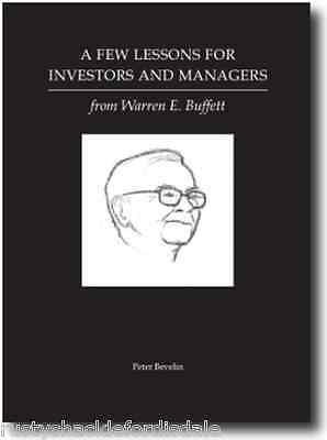 A Few Lessons For Investors And Managers From Warren Buffett  Berkshire Hathaway