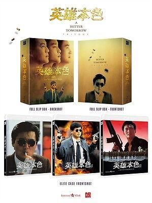 A Better Tomorrow Trilogy Box Set (Blu-ray) / English Subtitle / Region ALL