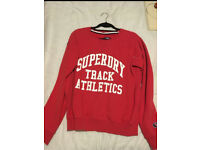 Superdry unisex red jumper