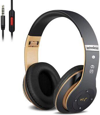 Auriculares Cerrados Inalámbricos 6S Alta fidelidad Estéreo Micro SD/TF, FM