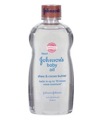 JOHNSON'S Baby Oil Shea - Cocoa Butter 14 oz