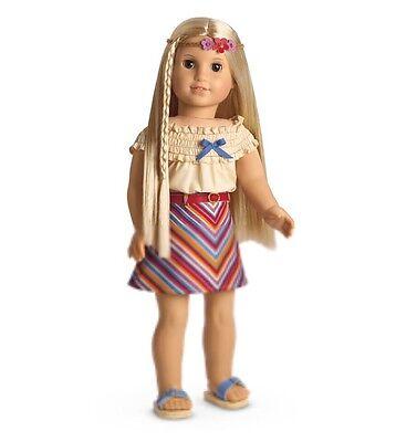 "New In Box American Girl Julie ""Summer Skirt Set"" - Outfit NIB"