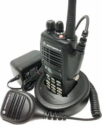 Motorola HT1250 Two Way Radio UHF 403-470 MHz Full Keypad GMRS AAH25RDH9AA6AN. Buy it now for 219.95