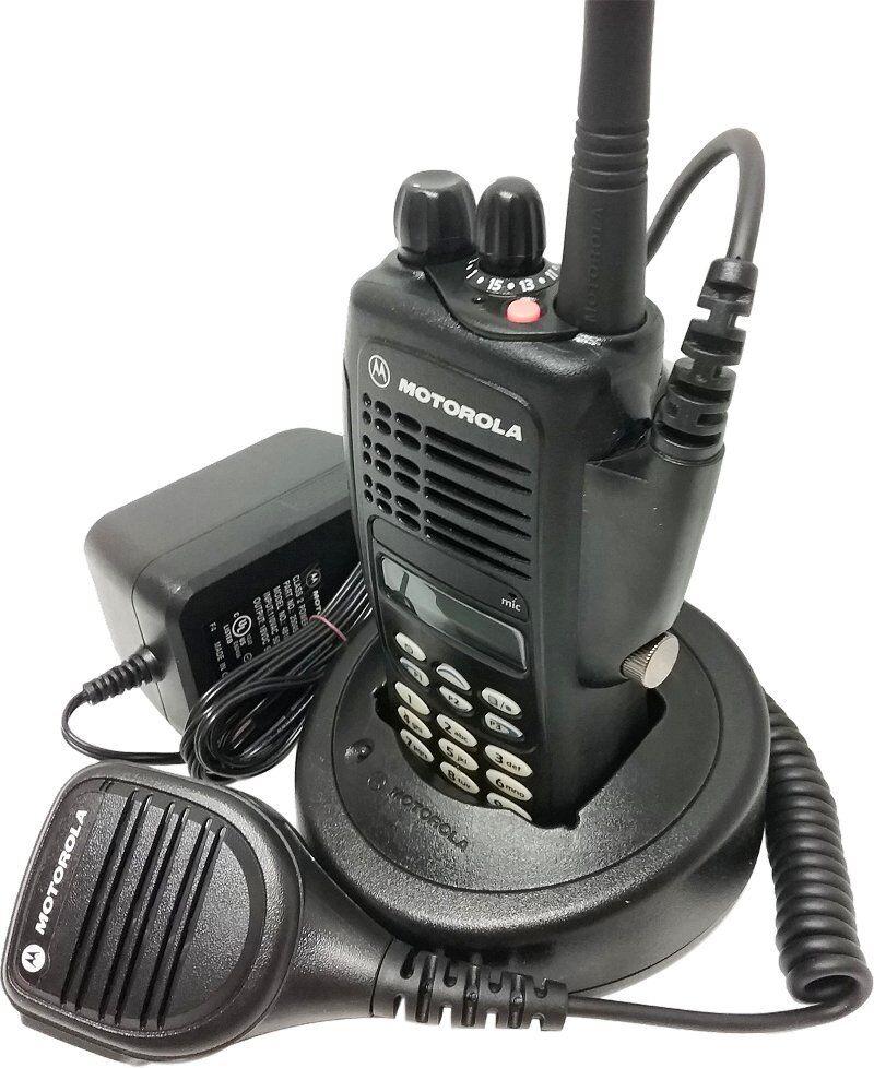 Used Motorola HT1250 Two Way Radio UHF 403-470 MHz Full Keypad GMRS AAH25RDH9AA6AN Motorola AAH25RDH9AA6AN for 219.95.