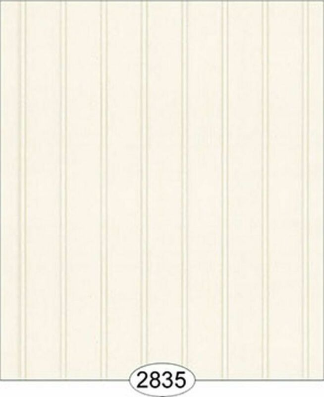 Dollhouse 1:12 Scale Floorpaper or Wallpaper - Bead Board - Off White