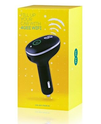 EE Buzzard 2 24GB 4G In Car WiFi Device. Includes a 24GB 2GB Per Month SIM Card