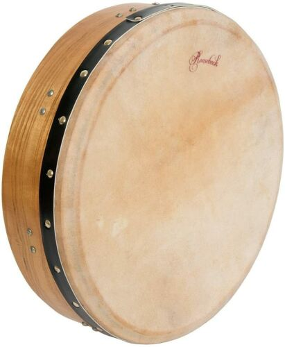"Mid East Roosebeck BTN4MS Tunable Mulberry BodhrAn Single-Bar 14""x 3.5"""