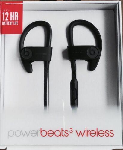 Headphones - Beats by Dre Powerbeats 3 Wireless In Ear Headphones Black Powerbeats3