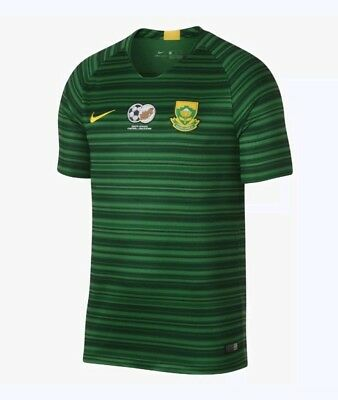 Nike 2018 South Africa Stadium Away Soccer Jersey Mens Size Small AA2922 341 S image