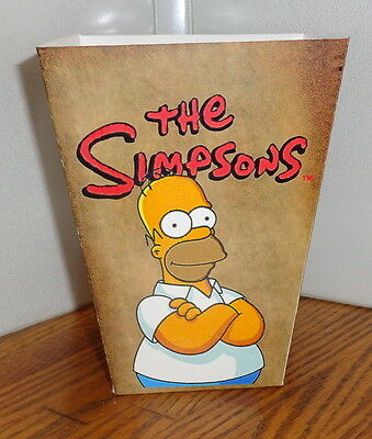 The Simpsons Popcorn Box 1. Tv Cartoons. Rolling Stones.....free Shipping