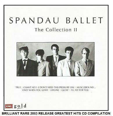 Spandau Ballet The Very Best Greatest Hits Collection II RARE 80's Synth Pop