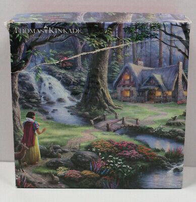 Disney Thomas Kinkade Snow White Discovers the Cottage 750 Piece Jigsaw Puzzle