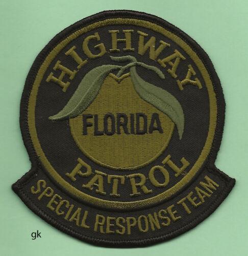 FLORIDA  HIGHWAY PATROL SRT POLICE SHOULDER PATCH  green