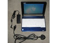 Acer Aspire One Netbook PC 8.9 inch screen