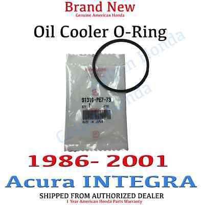 1986- 2001 ACURA INTEGRA Genuine OEM Oil Cooler O-Ring 62.4 x 3.1 91316-PE7-730 -