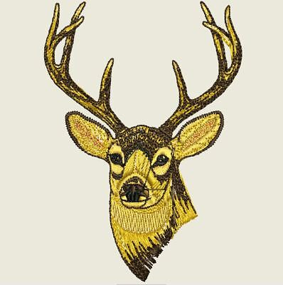 Over 220 Hunting & Fishing Embroidery Designs - CD/USB/Floppy - 11 Formats