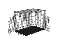 Dog crate, cover and bed bundle - 30 inches