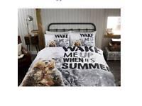 Bear wake me up duvet set