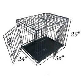 """*SOLD*Dog crate large Ellie-bo 36"""""""