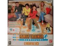 Nintendo Wii Family Trainer, Game & Mat