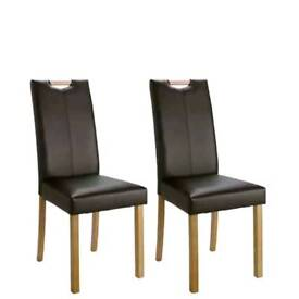Pair Of Midback Chairs With Handle black (brand new and boxed)