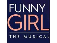 Two tickets to funny girl
