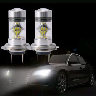 2X CREE 200W 3600LM H7 LED Headlight