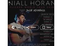 Niall horan Front Stalls Section