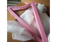 Pink Harpsicle Harp