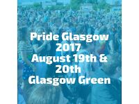 Pair of VIP weekend Glasgow Pride Tickets