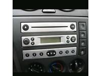 Genuine FORD FIESTA Mk6 02-05 4500 RDS E•O•N Silver Car Stereo Radio CD Player
