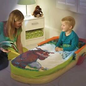 Gruffolo ready bed blow up bed 18 months to 3 years
