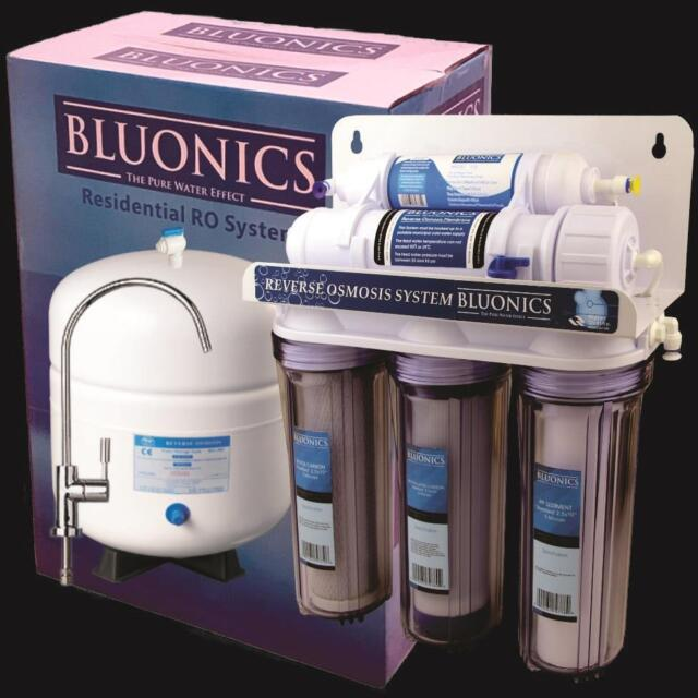 bluonics 5 stge reverse osmosis undersink water filter nsf certified ro membrane - Undersink Water Filter