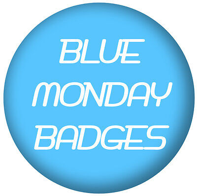 Blue Monday Badges