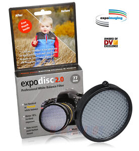EXPODISC 2.0 WHITE BALANCE FILTER NEUTRAL OR PORTRAIT 77mm~New Product 2013