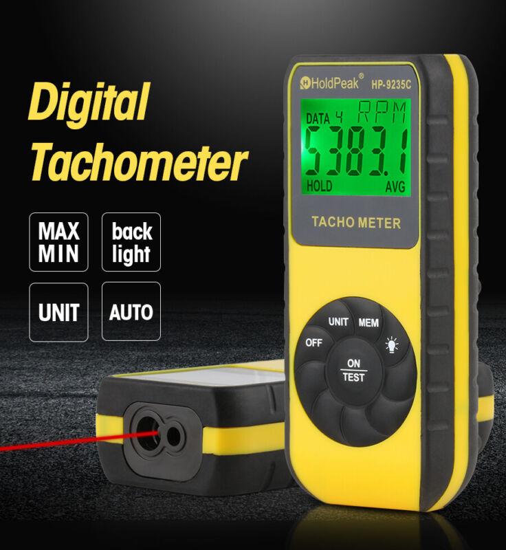 Laser Tachometer Speed Meter Non-Contact Engine Diagnostic Tool Motor RPM Meter