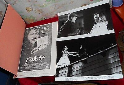 original NIGHT OF THE DEMONS PRESS KIT with 2 photos