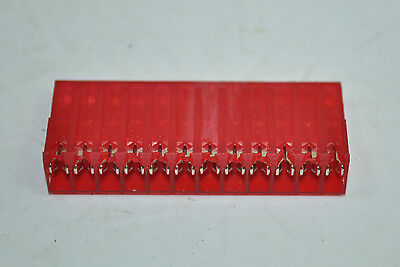 Tyco 12 Pos Mta156 Female Connector Assembly 22awg Lot Of 25 Part 1-640606-2