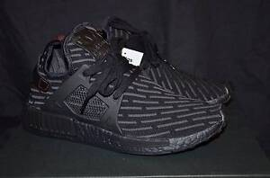 US 8 Adidas NMD XR1 Triple Black Prime knit Leeming Melville Area Preview