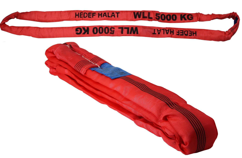 2t 1m//2000kg 1 Meter Hebeband Hebeschlinge Bandschlinge Rundschlinge Hebegurt Krangurt Kranschlinge Bergegurt Transportgurt