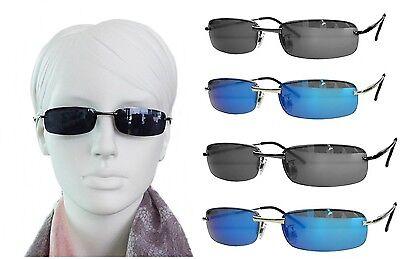 Dunkle schmale stilvolle Sonnenbrille Polycarbonat Gläser