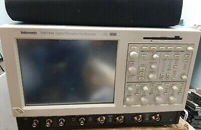 Tektronix Tds7104 1ghz 10gss 4 Channel Digital Phosphor Oscilloscope Opt 1m