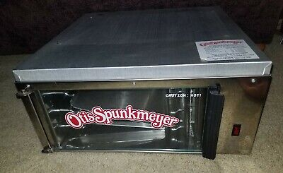 Otis Spunkmeyer Os-1 Commercial Convection Cookie Oven With 2 Trays Vintage