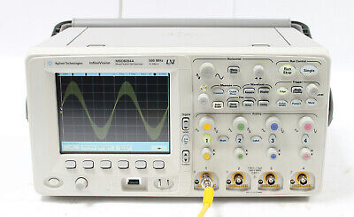 Agilent Mso6054a 500 Mhz 4 16 Ch 4 Gss Mixed Signal Scope With Options