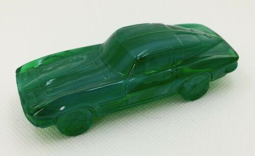 Boyd Sports Car #1 MOSS GREEN Slag - Chevrolet Chevy 63 Corvette Vaseline Glass