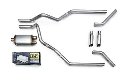 Magnaflow All Stainless Mandrel Dual Truck Exhaust for 2009 18 Ford F150 F250