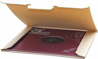 >NEU< 10 St. Deluxe LP Versandkartons für 1 Vinyl LP 325x325x4 mm sehr stark