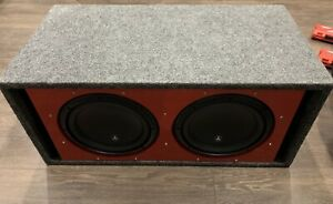 "Subwoofer box for two 10""  BOX ONLY"